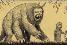 Don Kenn Mortensen`s (& other`s) artworks. Nicely-nice monsters!