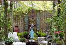 recreate back garden
