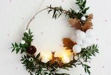 °O *Christmas* O° / Idées créatives et DIY pour Noël. Sapins de Noël, calendriers de l'avent, pères Noël, étoiles, paillettes....