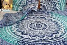 Duvet Cover bedding sets / Mandala inspired bedding sets for your cozy bed. Make your bed look more beautiful and colorful with duvet cover sets from India.