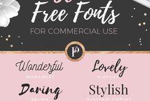 Digital Graphics & Fonts