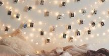 Bed Canopy ideas with lights
