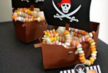 Pirate Party Theme / The best treasure you can find is always candy #candy #pirate #treasure #party #partyideas