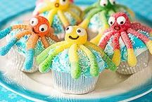 Undersea Party Theme / Party ideas to give you some extra vitamin sea #candy #sea #undersea #party