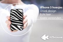 Leren iPhone 5 hoesjes / Luxe leren iPhone 5 telefoonhoesjes van itZbcause.nl. itZbcause maakt lederen iPhone 5 hoesjes van hergebruikt leer. Hierdoor leveren we een top kwaliteit leer tegen een ontzettend scherpe prijs. Zo is er voor jou altijd het perfecte iPhone 5 hoesje van een top kwaliteit leer.