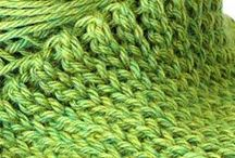 knitting and crocheting / by Laura Rodd