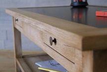 Inspirations meubles en bois  / Participez en épinglant ici de l'inspiration