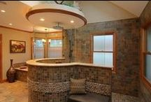 Ceramic Tile / From the floor to the wall, shower to tub surround, kitchen counter to backsplash the options are limitless with ceramic tile.