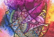 Art to Relax / De cursus waar je inspiratie, rust en balans vindt door het maken van deze geweldige figuren. In mijn atelier in Heerhugowaard geef ik ook cursussen waaronder zentangle patronen een grote rol spelen. info bel 06-16604325