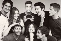 Tv series ❤️ / Teen wolf, the vampire diaries, pretty little liars, glossip girl and more
