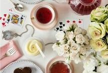 High tea / Please help me find inspiration for a fundraiser.