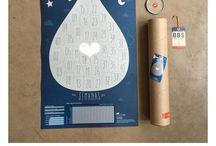 DeParís / Afiche con raspadita para seguir el embarazo semana a semana y enterarte de lo que sucede dentro de tu panza.