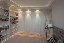 klasyczne sypialnie | Bedroom cabinets, closets, wardrobes | by Artystyczna Manufaktura / projektujemy i wykonujemy romantyczne francuskie sypialnie, klasyczne łóżka i zabudowy| custom classic style cabinets, closets & storage, wardrobes