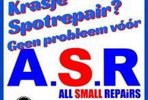 Kleine deukjes, restylen, ASR All Small Repairs / Klein schade herstel, alternatieve schade reparaties, schade mobiel, 06-53378735