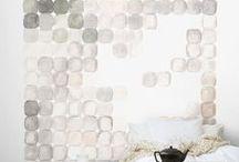 WALL / Inspirujące pomysły na ścianę / fundament kreatywnej przestrzeni.