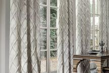Curtaining Fabric / Fabrics and wallpapers are among the most important elements in interior design and can define the character of a room.  So, if you are  looking at changing your curtains, we have a wide range of designer fabrics available in a mixture of design, texture and colour to whet your appetite.