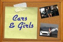 Girls & Cars  / A growing collection from across Pinterest of beautiful girls with awesome cars. What could be better?