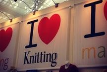We All Love Making / The Knitting & Stitching Shows, The Festival of Quilts, and just a lot of love for making.