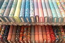 Fabrics & Patterns Galore / Wonderful fabrics and patterns we just LOVE!