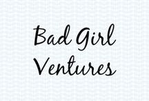 Bad Girl Ventures / December 2013, Bad Girl Ventures (BGV) we were a part of the eighth class of entrepreneurs that graduated from BGV in Cincinnati, Ohio. We were happy to have won the $25,000 grant as a result.  BGV is micro-lending nonprofit supporting female entrepreneurs in Cincinnati since 2010, and has since expanded to Cleveland and Columbus. Here is our board dedicated to them.