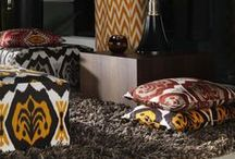 Carlucci Fractions / The Fractions collection from Carlucci by JAB Anstoetz is inspired by tribal prints and glamorous fabrics given a contemporary twist