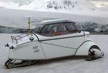 bubble car / 第二次世界大戦後 欧州では小さく魅力的な 小型自動車が たくさんありました