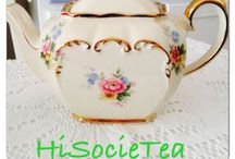 HiSocieTea / Vintage High Tea Hire