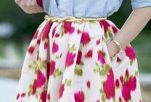 Feminice / Feminina ao pé da letra: floral, renda, bolinhas, babado, cintura marcada, suavidade