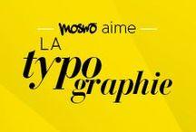 MOSWO LOVES TYPOGRAPHY / MOSWO LOVES TYPOGRAPHY