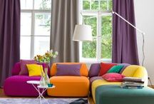 Luke upholstery fabric / The LUKE Collection by JAB Anstoetz offers the ultimate in colour blocking for upholstery. Available in 63 bold and bright colours, LUKE is a 140cm wide two-tone 100% cotton plain upholstery fabric.