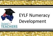 DBT EYLF Numeracy Development