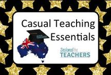 DBT Casual Teaching Essentials / Items that a Casual Teacher should have in their resource library.