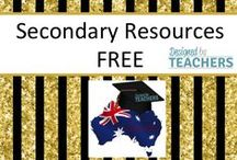 DBT: Free Secondary Ed. Resources / Australian Teaching Network where Educators can share, sell and buy resources for their classrooms - Early Childhood, Primary & Secondary Education. http://designedbyteachers.com.au