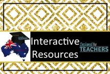 DBT Interactive (Prim.) Resources / Australian Teaching Network where Educators can share, sell and buy resources for their classrooms - Early Childhood, Primary & Secondary Education. http://designedbyteachers.com.au