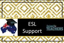 DBT ESL Resources / Australian Teaching Network where Educators can share, sell and buy resources for their classrooms - Early Childhood, Primary & Secondary Education. http://designedbyteachers.com.au