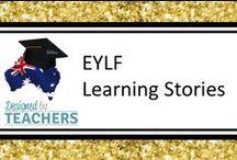 DBT EYLF Learning Stories & Portfolios / Resources designed for EYLF.