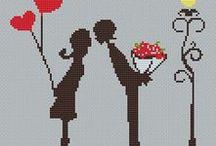 Cross Stitch Wedding