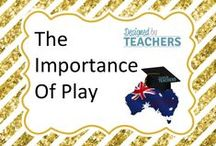 DBT The Importance of Play in the Early Years / Great resources and ideas for encouraging students to learn through play.