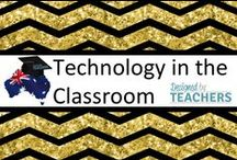DBT - Technology in the Classroom / Australian Teaching Network where Educators can share, sell and buy resources for their classrooms - Early Childhood, Primary & Secondary Education. http://designedbyteachers.com.au  The Cover for our board is designed by RebeccaB Designs and can be purchased here: http://designedbyteachers.com.au/marketplace/templates-for-pin-covers-4/