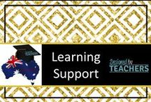 Australian Learning Support / Resource, ideas and information support for parents and teachers in the area of providing learning support.