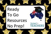 DBT - Ready to Go Resources - No preparation - Simply print and use in your classroom! / Great resource to use in your classroom with little or no preparation.... simply print and go!
