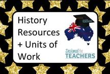 DBT History Resources & Units of Work for Primary Education / Resources, lessons and units of work for Australian Curriculum designed for years Foundation - year 6.