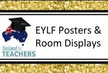 DBT: EYLF Posters & Room Displays / Classroom Resources and Posters for room displays in early childhood centres and rooms.