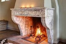 Antique and handmade fireplaces