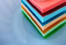 colourful cakes