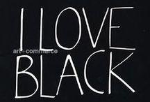 ♥ black & white