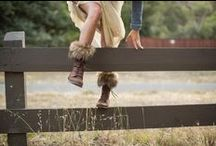 FALL in Love with Boots / There's so many fun ways to accessorize boots!  Here are a few ideas we will style this Fall...
