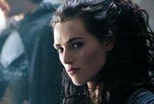 Morgana, Queen of Camelot / Irish Actress And Model Katie McGrath