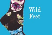 Wild Feet / Uhm, excuse me. Did you know you have animals on your feet? Yeah, I like it that way.