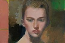Elena Zolotnitsky Art / Intimate and often vulnerable or frail spaces, flowers, and vague individuals inhabit Elena's paintings. She succeeds in elevating the ordinary into the extraordinary in her graceful approach and selectivity.  http://www.selbyfleetwoodgallery.com/artists/elena_zolotnitsky